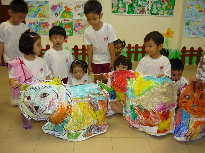Patrick yee illustration children 39 s art craft workshop for Children arts and craft
