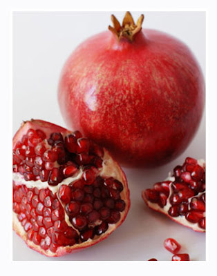 Pomegranate Seeds Coloring Pages