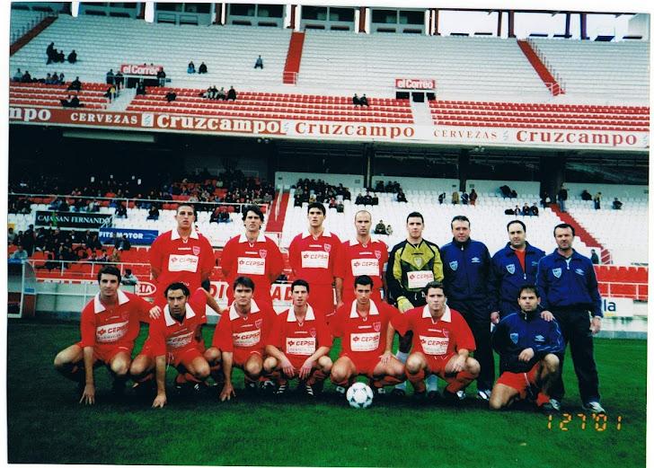 La Palma CF en el Ramón Sánchez Pizjuan