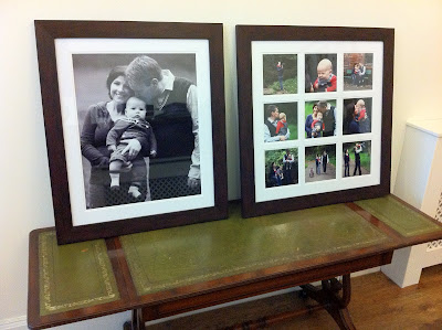 Framed Family Portraits Wallace Artworks Photography Studio Edinburgh