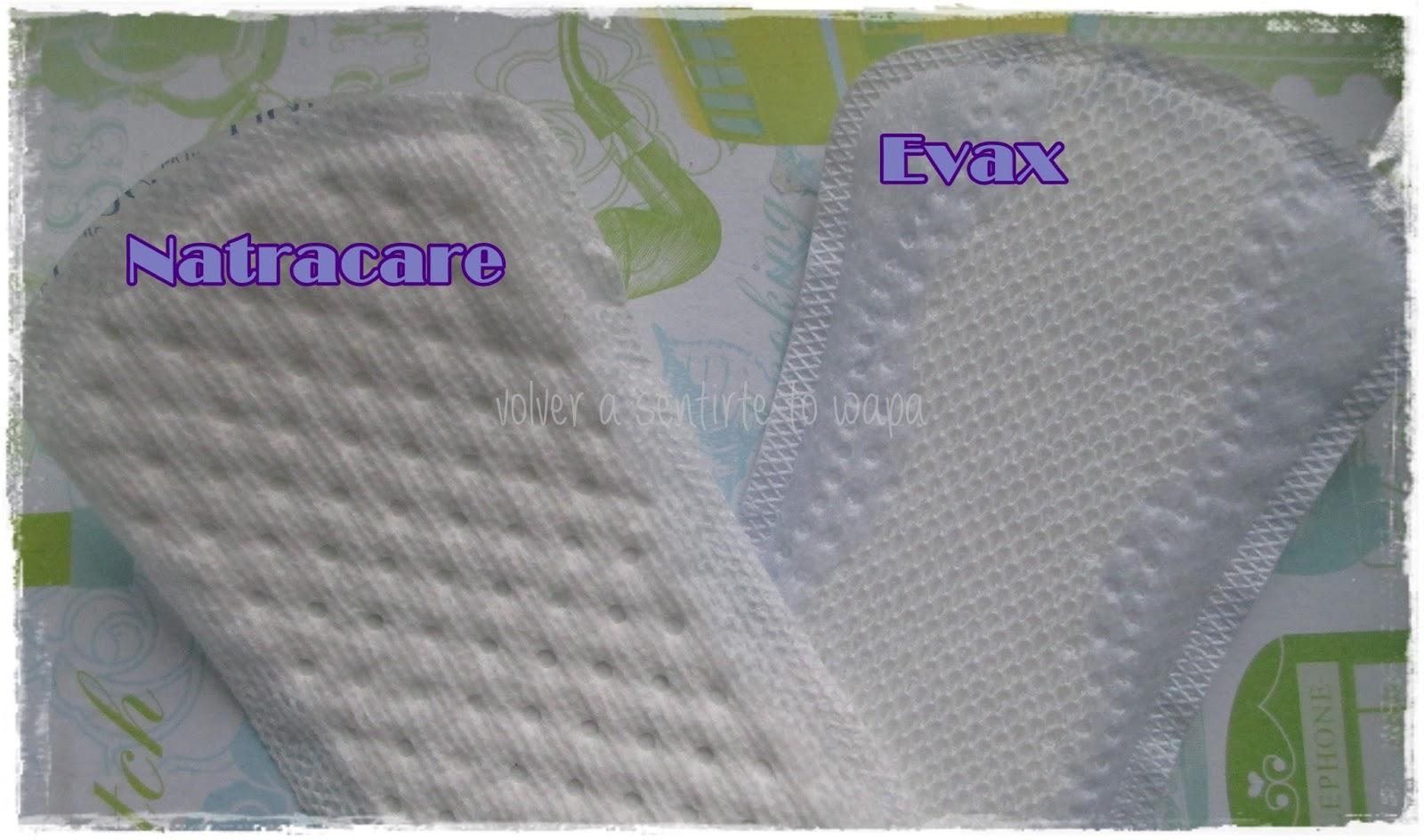 CUIDADO ÍNTIMO: salvaslip de algodón ¿sí o no? - NATRACARE vs EVAX