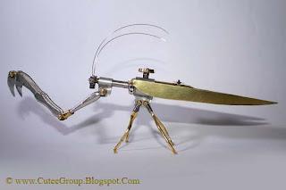 Arthrobots  Steam Punk Insects