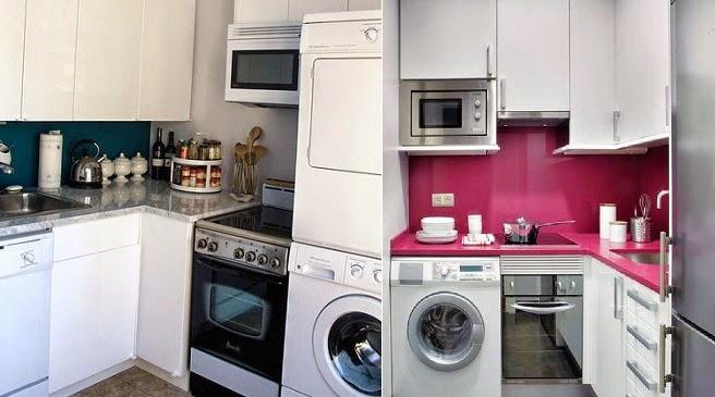Integrar la zona de lavadero en la cocina decoraci n for Lavadero cocina