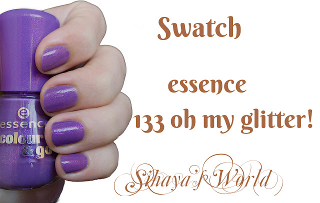 essence 133 oh my glitter swatch