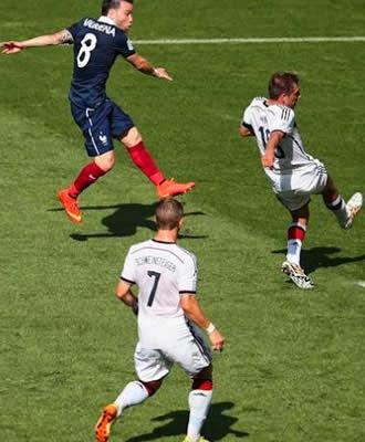 Alemanha supera a França no Maracanã e avança a semifinal da Copa