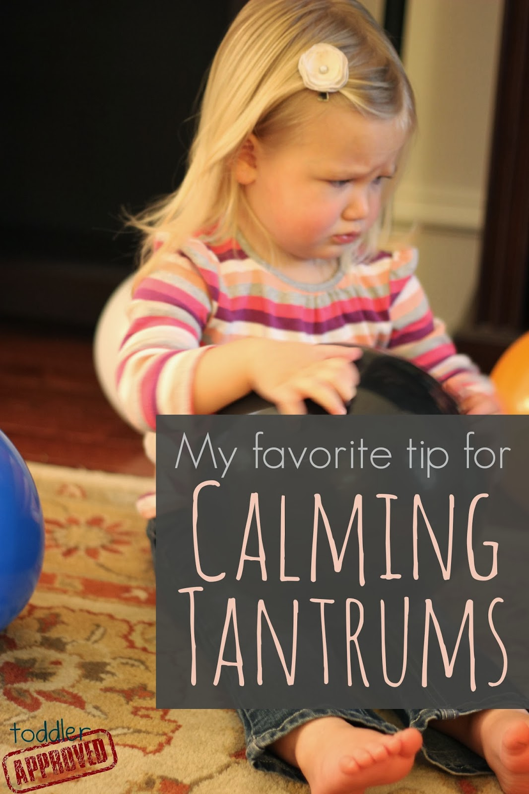 Wanted to share with you my absolute favorite tip for calming tantrums