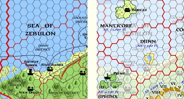 Mystara Alphatia Ar Djinn Map