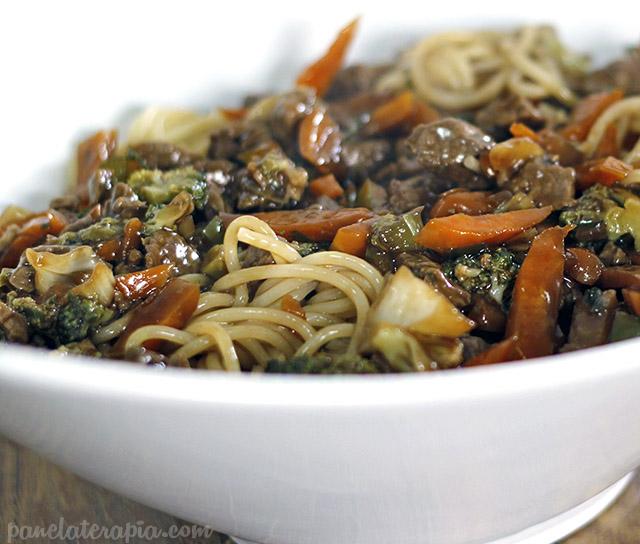 Espaguete Oriental