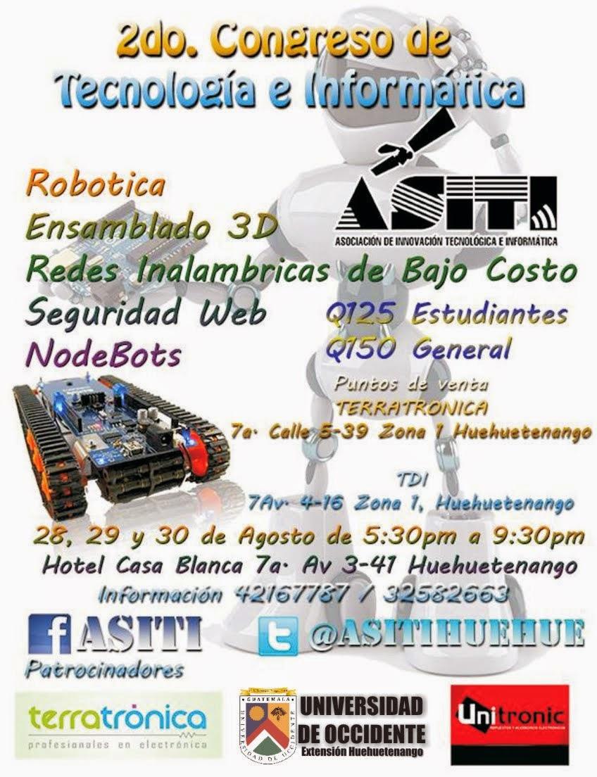 2o. Congreso de Tecnología e Informática en Huehuetenango