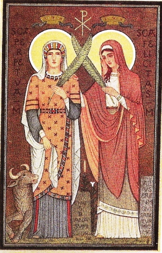 the martyrdom of perpetua Perpetua had managed to convert their jailer to  known as the martyrdom of perpetua and felicity, was so popular in the early centuries that it was.