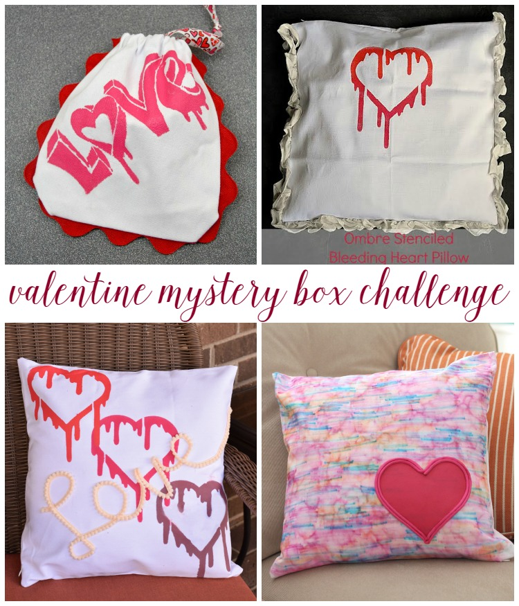 Valentine Mystery Box Challenge pitterandglink.com
