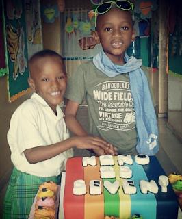 NINO+2 - Nino, Tuface son celebrates 7 year birthday