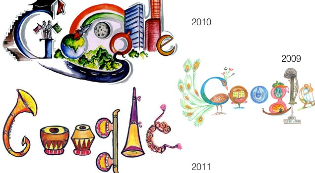 Top 10 Google Doodles Computer World With It
