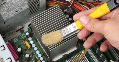 Làm sạch máy tính thường xuyên