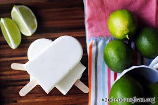 Cách làm kem chanh dừa mát lạnh ngày hè10
