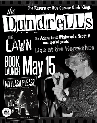 No Flash, Please! book launch @ The Horseshoe, May 15