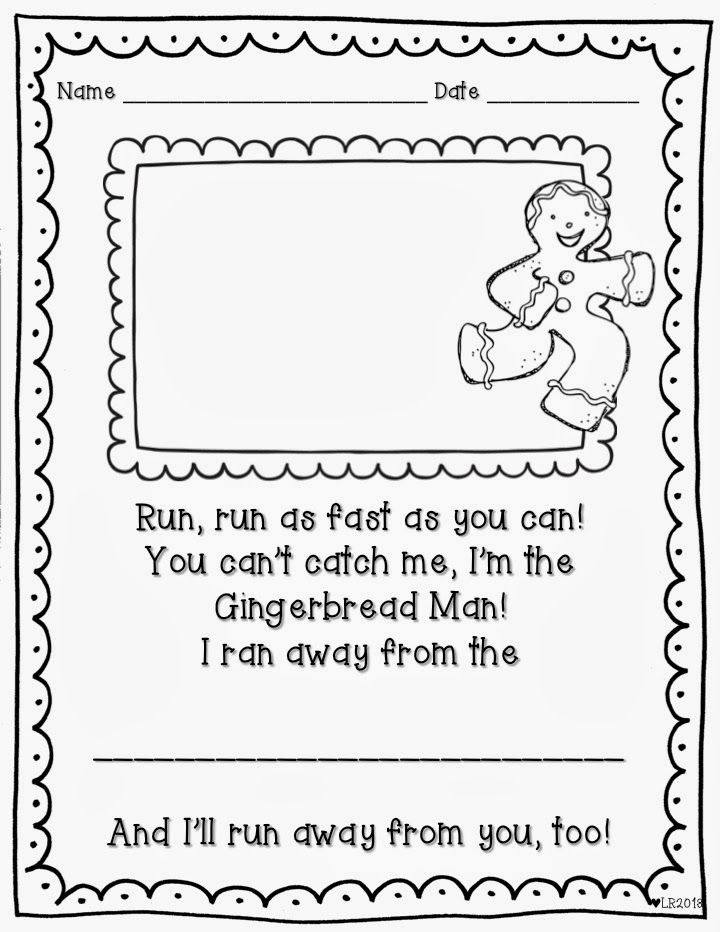 gingerbread man writing paper Free letter writing paper for kids - rabbits - ideal for letter writing and the publishing of children's compositions a nice writing paper set.