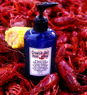 crawfish boil hand soap