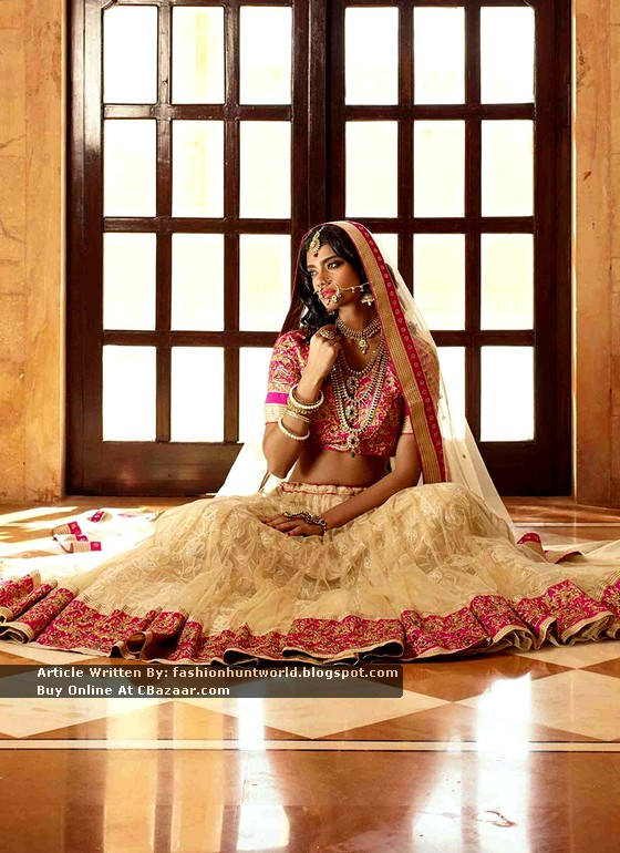 2015 New Trend Of Bridal Lehengas