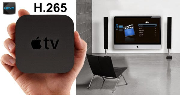 Play H.265 video files on the new Apple TV 3