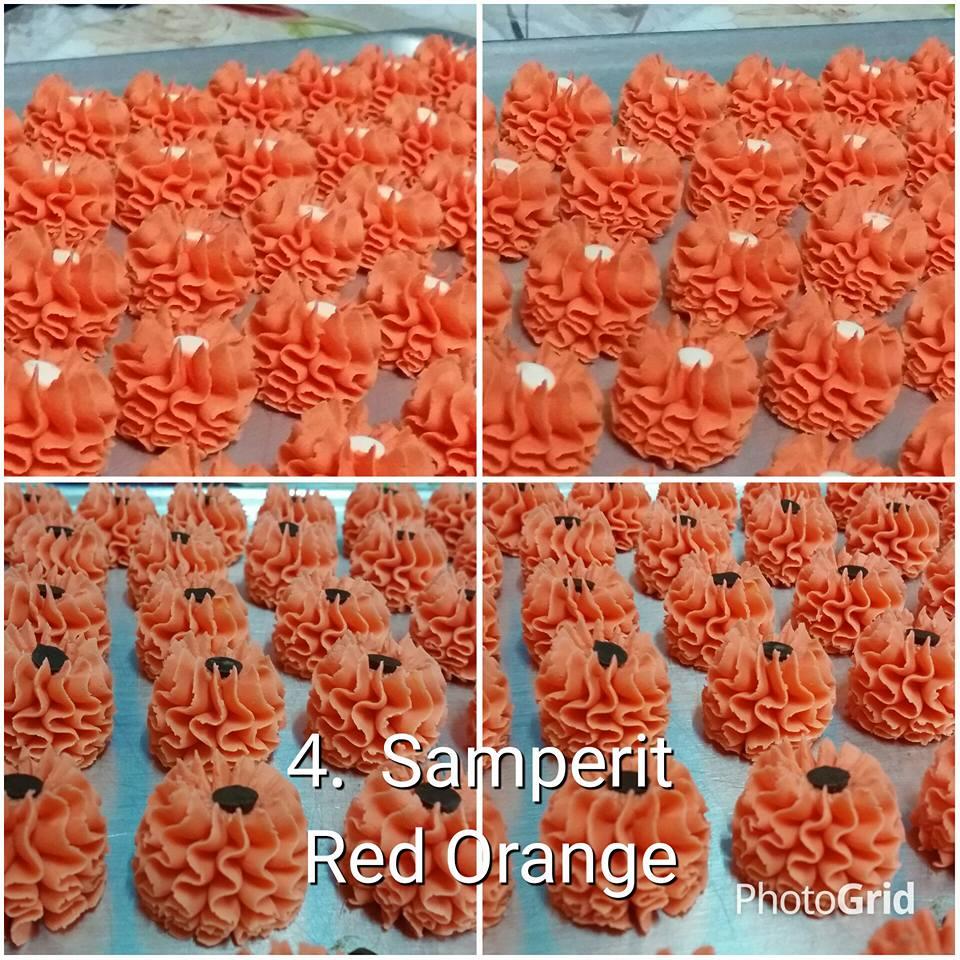Samperit Red Orange