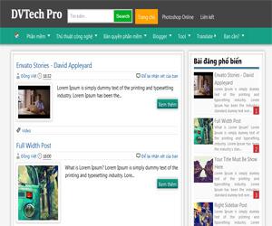Share Theme Blogspot chuẩn Seo