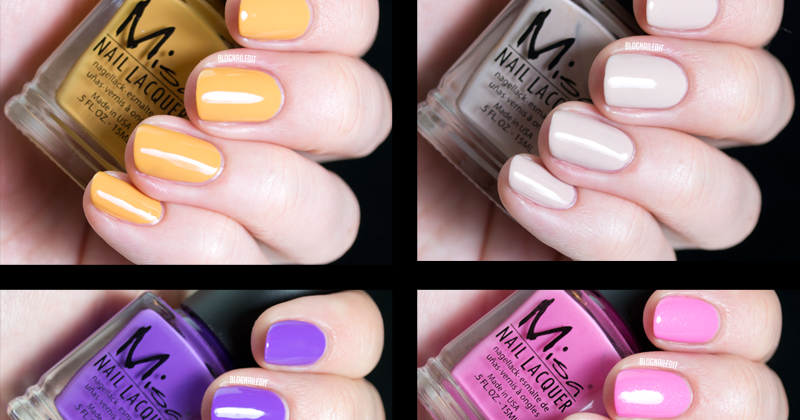 Misa Sunny Side Up Spring 2014 Collection - Nailed It | The Nail Art ...