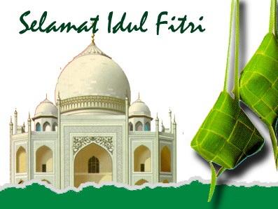 Selamat Hari Raya Idul Fitri Minal 'Aidin wal Faizin