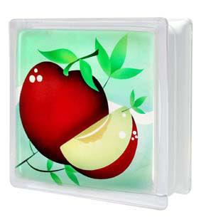 บล็อกแก้ว แอปเปิ้ล