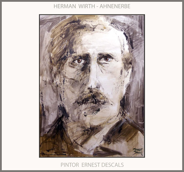 AHNENERBE-ARTE-MISTICOS-ALEMANIA-PINTURA-MISTICA-NAZIS-HERMAN WIRTH-PERSONAJES-HISTORIA-ARTISTA-PINTOR-ERNEST DESCALS-
