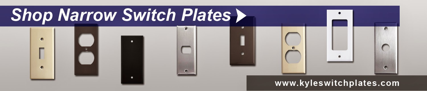 Shop Narrow Light Switch Plates and Outlet Covers