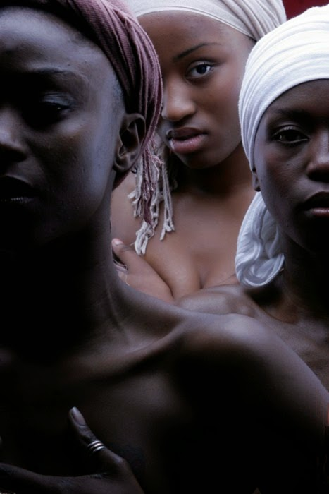Anonymous Nubian women.
