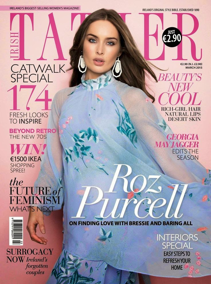 Model: Roz Purcell for Irish Tatler