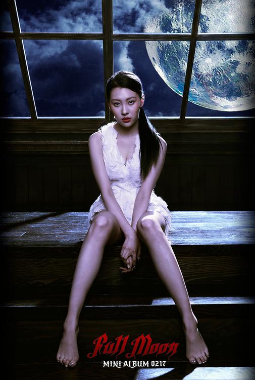 Sunmi Full Moon Teaser