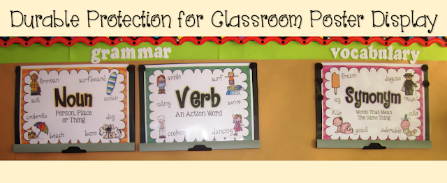 Free Classroom Poster for Vocabulary and Grammar