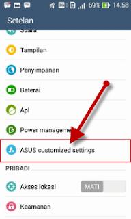 Screenshot ZenFone 1