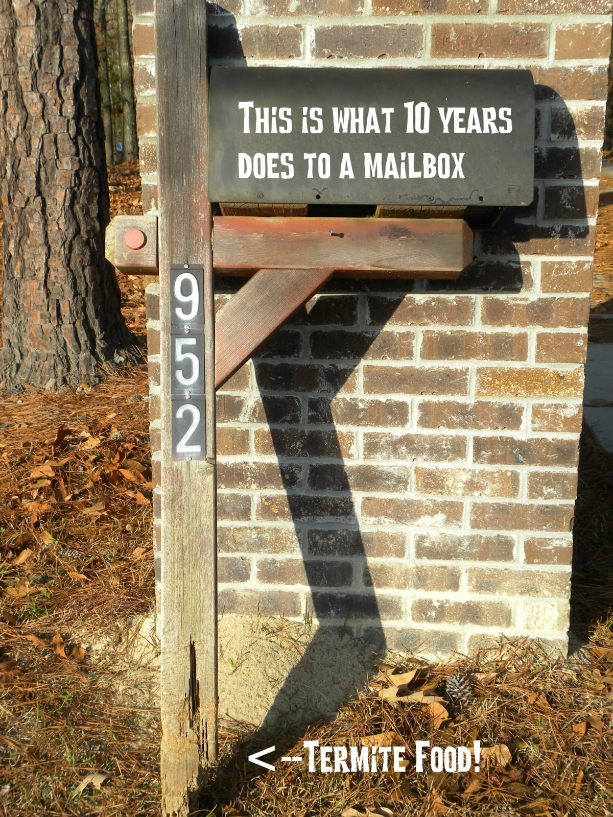 Practips diy replacing your mailbox post one day last summer when we were coming home from running errands i pulled into the driveway and stopped to get the mail as i walked up to the mailbox solutioingenieria Choice Image