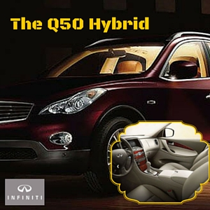 About The Q50 Hybrid