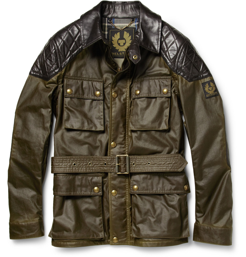 00O00 Menswear Blog: David Beckham Belstaff Trophymaster waxed cotton jacket Mercer Hotel New York June 2013