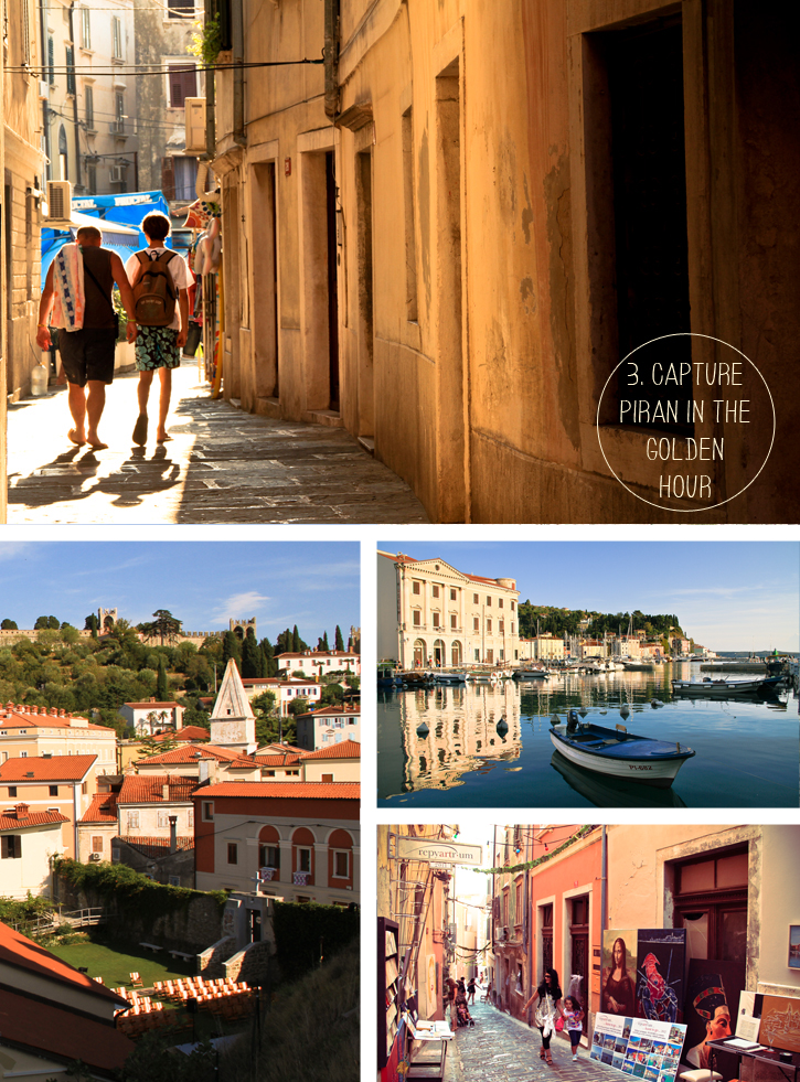 Piran Slovenia, venetian gothic architecture, Slovenian coastal peninsula, cobbled streets of Piran, Slovenia