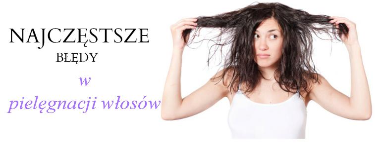 Najczęstsze błędy w pielęgnacji włosów.