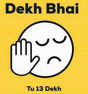 Dekh bhai memes tu 13 dekh