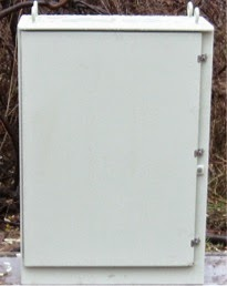Michigan Outdoor Electrical Street Lighting Box Stahlin Non-Metallic Enclosure