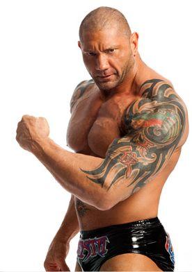 Dave Batista Tattoo Design