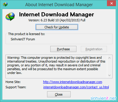 Download IDM 6.23 Build 10 Full Crack