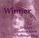 Rhedd's Creative Spirit challenge 1