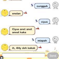 Bahasa Alay (Ciyus Miapah) Sekarang Mulai Ngtren