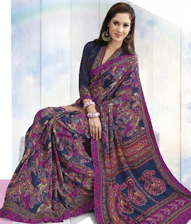 Saree Design For This Year Eid+(9) Eid Collection Saree Design