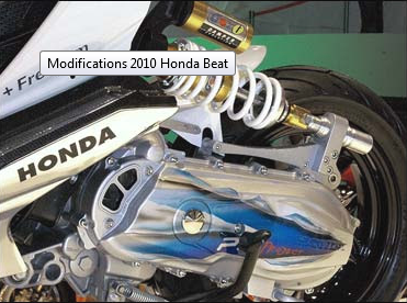 Modifikasi Honda Beat 2010