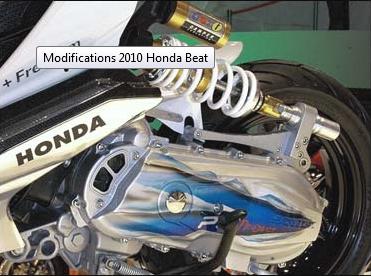 Modifikasi Honda Beat 2010